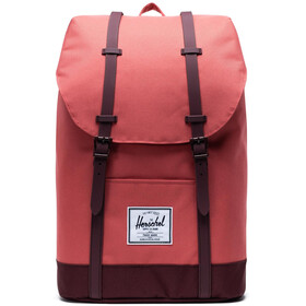Herschel Retreat Selkäreppu 19,5l, mineral red/plum
